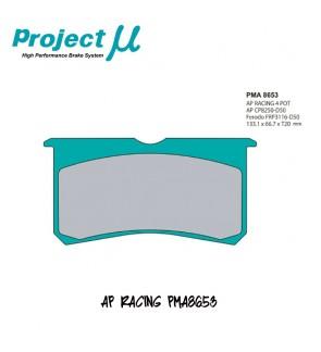 PMU Fastop Brake Pad PMA8653 for AP Racing 4-Pot Caliper CP8350 CP8351