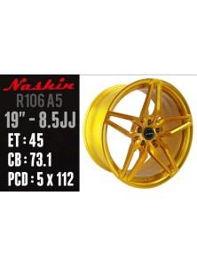 NASHIN FORGED ALUMINIUM WHEELS FOR VW GOLF PASSAT SCIROCCO (R106A5)