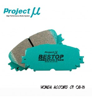 PMU Bestop Front Brake Pad F302 - Honda Accord CP 08-13 / Odyssey RB1-3 (Absolute)