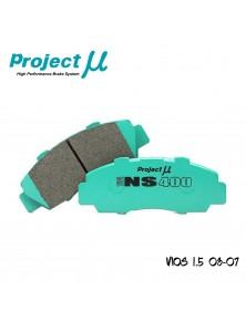 PMU NS400 Front Brake Pad PMA8560 - Toyota Vios NCP150 14+ (J/E Spec)