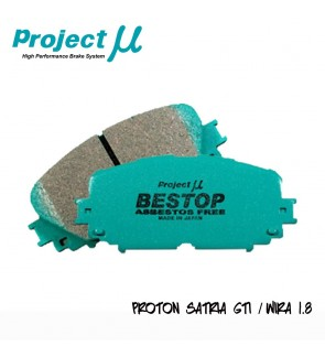 PMU Bestop Front Brake Pad F551 - Proton Satria GTi / Wira 1.6 / Perdana V6