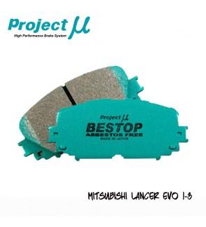 PMU Bestop Front Brake Pad F533  - Mitsubishi Evo 1-3 / Airtrek Turbo