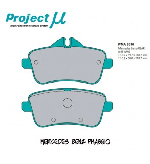 PMU NS400 Rear Brake Pad PMA8610 - Mercedes Benz A45 AMG W176