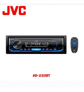 JVC KD-X351BT Digital Media Receiver with Bluetooth/USB/AUX Input