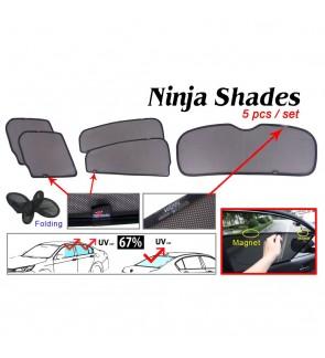Ninja Sunshade for Honda HR-V 2017 (5 Pcs)