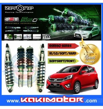 Zerone SSR550 Adjustable Suspension - Perodua Axia / Bezza