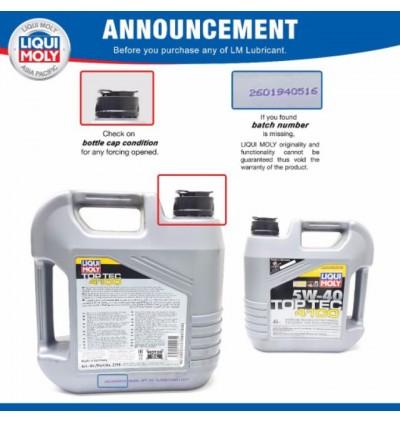 Liqui Moly Molygen New Generation 5W30 (4L)