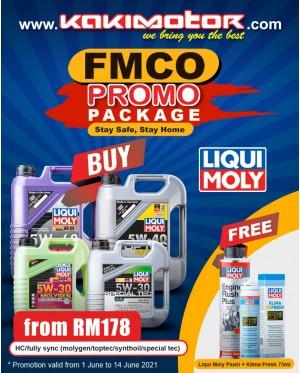 Liqui Moly Molygen 5W30 (4L) - FREE Liqui Moly Engine Flush & Klima Fresh