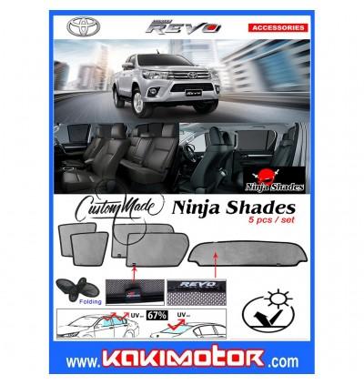 Ninja Sunshade for Hilux Revo (5 Pcs)