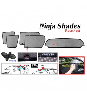 Ninja Sunshade for Hilux Revo (5 Pcs)