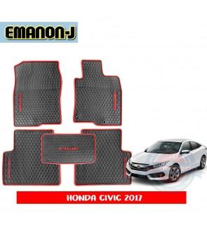 Emanon-J Silicon Floor Mat - Honda Civic FC 2017