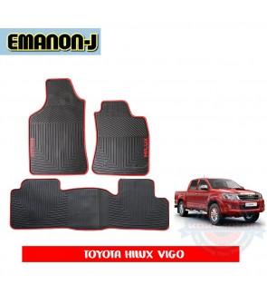 Emanon-J Silicon Floor Mat - Hilux Vigo