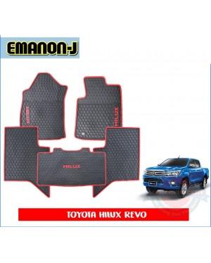 Emanon-J Silicon Floor Mat - Hilux Revo