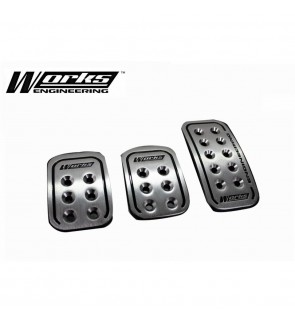Works Engineering Aluminium Foot Pedal Set - Manual