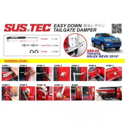 Sus-Tec Easy Down Damper For 4X4