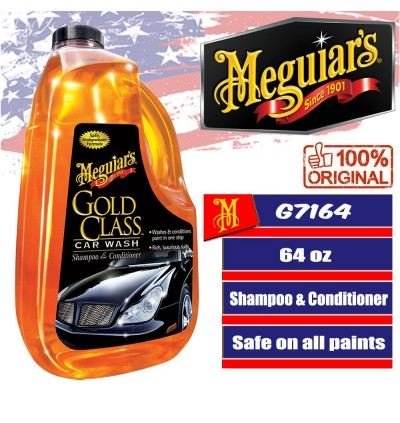 Meguiar's® Gold Class™ Car Wash Shampoo & Conditioner, G7164, 64 oz., Liquid