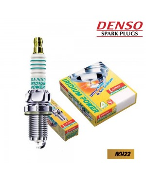 DENSO IRIDIUM POWER SPARK PLUG IKH22 (4PCS)