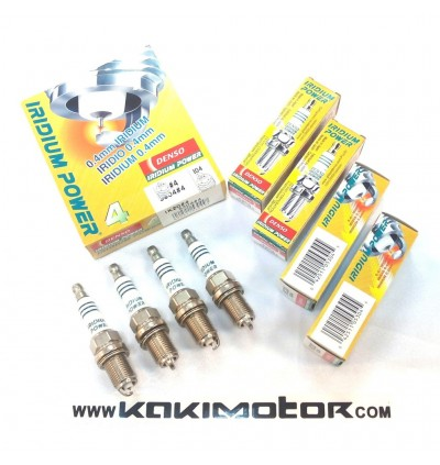 DENSO IRIDIUM POWER SPARK PLUG IKH20 (4PCS)