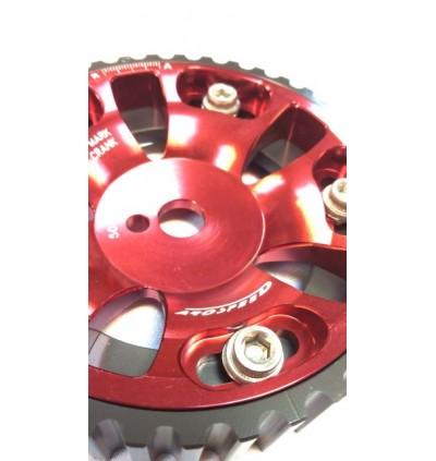 Arospeed Cam Pulley (Red) - Honda B16 / B18 DOHC