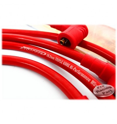 Arospeed Tri Core Plug Cable - Proton Wira 1.6/1.8 4G93 MMC