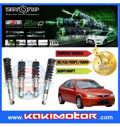 Zerone SSR500 Adjustable Suspension - Proton Wira / Waja / Satria / Persona / Gen 2