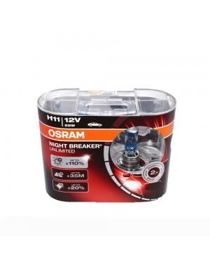 Osram Night Breaker Unlimited Bulb +110% Brightness H11
