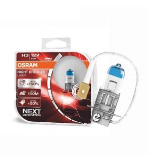 Osram H3 Night Breaker Laser Bulb - +150% Brightness