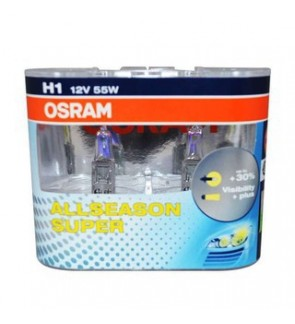 Osram Yellow Coat All Season Bulb for All Weather H1
