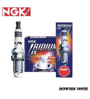 NGK Iridium IX Spark Plug DCPR7EIX (4 Pcs)