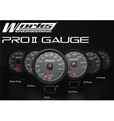 Works Engineering Pro II PLUS Gauge - Oil Pressure Gauge
