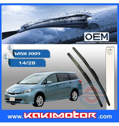 2009 Toyota Wish Hybrid Wiper 14/28