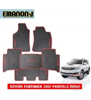Emanon-J Silicon Floor Mat - Toyota Fortuner