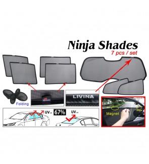 Ninja Sunshade for Nissan Livina (7 Pcs)