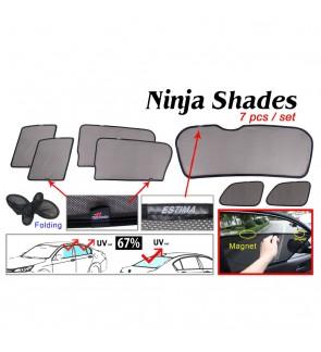 Ninja Sunshade for Toyota Estima ACR50 2006 (7 Pcs)