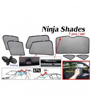 Ninja Sunshade for Porsche Macan (7 Pcs)