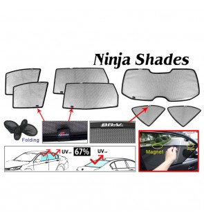 Ninja Sunshade for Honda BR-V 2017 (7 Pcs)