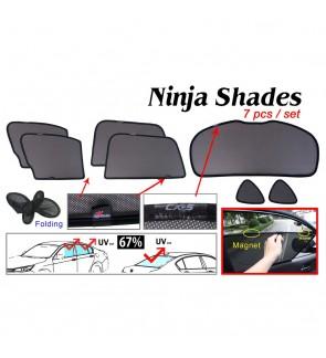 Ninja Sunshade for Mazda CX-5 2011-2016 (7 Pcs)