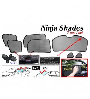Ninja Sunshade for Mazda CX-5 2017 (7 Pcs)