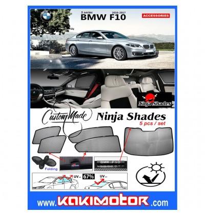 Ninja Sunshade for BMW 5-Series F10 (5 Pcs)