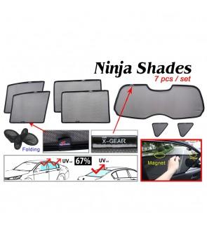 Ninja Sunshade for Nissan Livina X-Gear (7 Pcs)