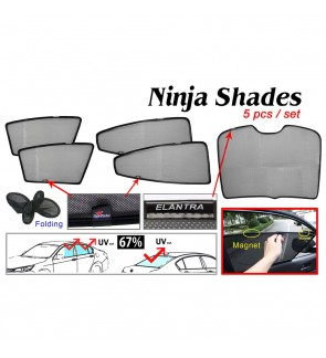 Ninja Sunshade for Elantra 2015 (5 Pcs)