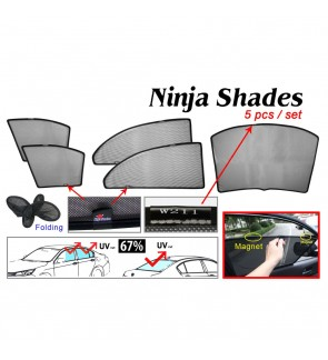 Ninja Sunshade for Benz W211 E-Class (5 Pcs)