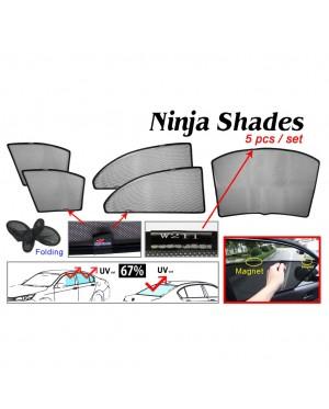 Ninja Sunshade for Benz W211 E-Class (5 Pcs)