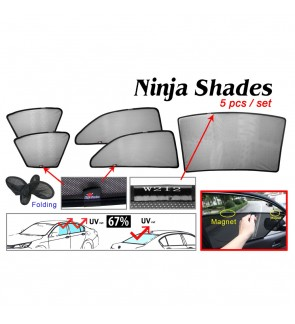 Ninja Sunshade for Benz W212 E-Class (5 Pcs)