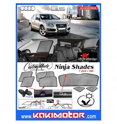 Ninja Sunshade for Audi Q5 (7 Pcs)