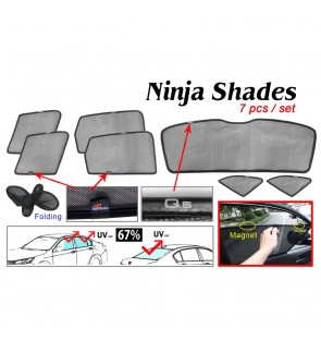 Ninja Sunshade for Audi Q5 (7 Pcs)
