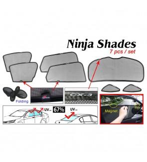 Ninja Sunshade for Mazda CX-3 (7 Pcs)
