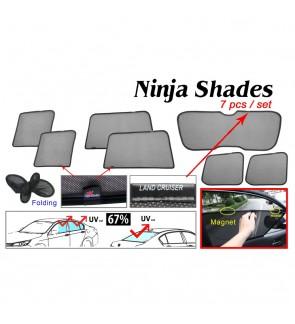 Ninja Sunshade for Land Cruiser FJ200 (7 Pcs)