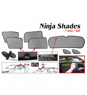 Ninja Sunshade for Mitsubishi ASX (7 Pcs)