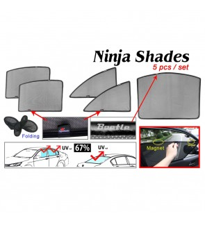 Ninja Sunshade for Beetle 2012 (5 Pcs)